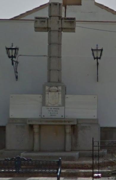 Monumento a los caídos de Calzada de Calatrava.