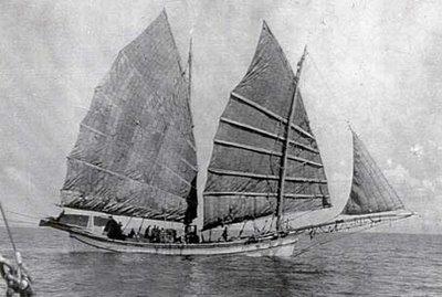 Junco chino, una de las embarcaciones a vela más antiguas que se conocen.