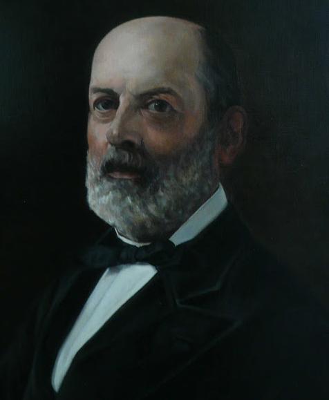 Retrato al óleo de Juan Martínez Villergas