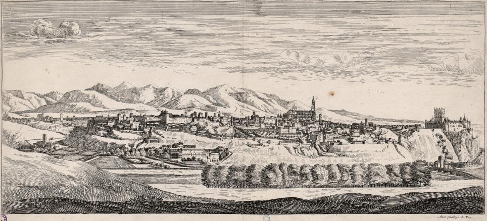 Vistas de Segovia del siglo XVII
