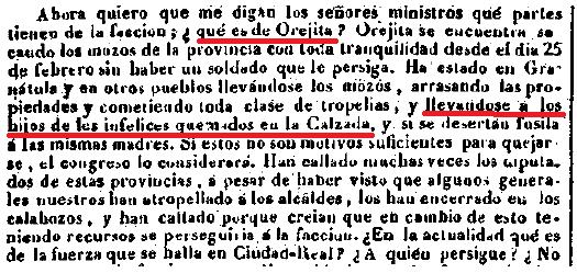 Palabras del señor Hidalgo, en la sesión del dia 23 de abril de 1938 en el Congreso de los Diputados.