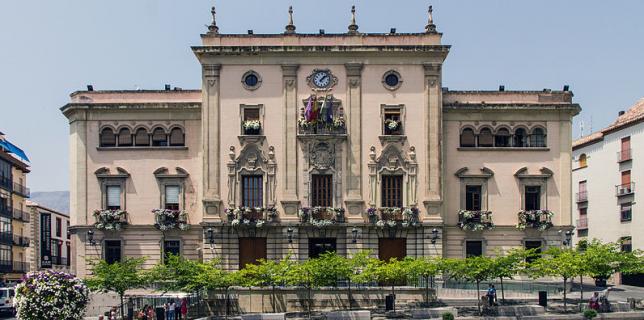 Actual Ayuntamiento de Jaén.