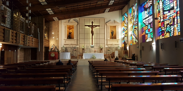 Iglesia del Convento de Capuchinos de Granada.