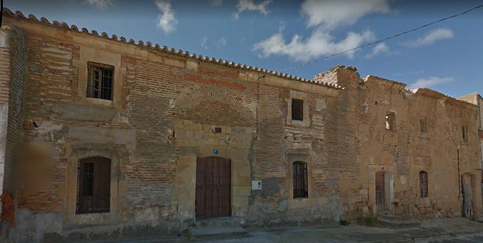 Ruinas del Convento de Aldea del Palo en San Miguel de la Ribera (Zamora). Imagen de Google.