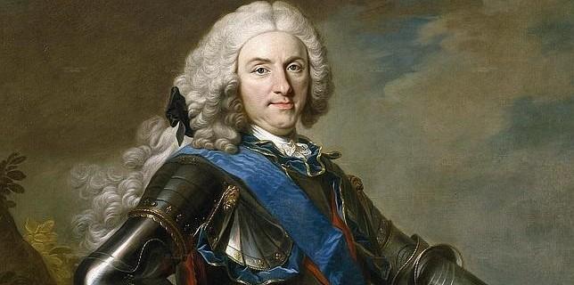 Retrato de Felipe V, por Louis-Michel van Loo - Museo del Prado