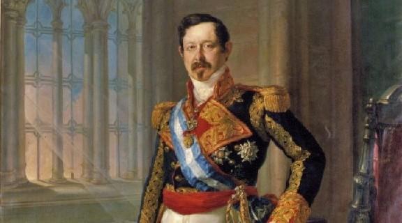 Retrato del Capitán General Ramón María de Narváez, por Vicente López Portaña.