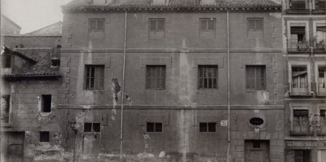Casa del Pecado mortal, en la calle del Rosal, 3 (Madrid).
