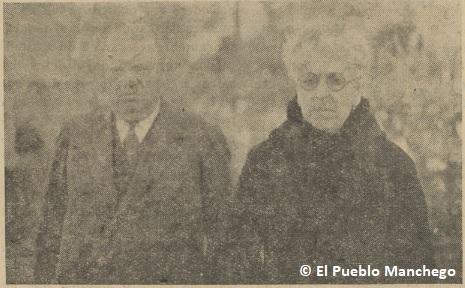 Emilio Fernández y su señora, dueños de la finca Fuente del Moral.