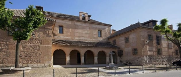 El que fuera convento de los franciscanos en Almagro, actual Parador Nacional.