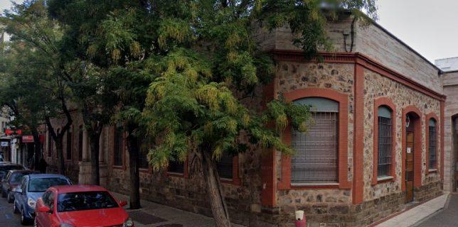 Sede actual de la asamblea local de la cruz roja, donde estuvo el antiguo convento franciscano en Puertollano.