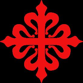 La Cruz de Calatrava, emblema de la orden.