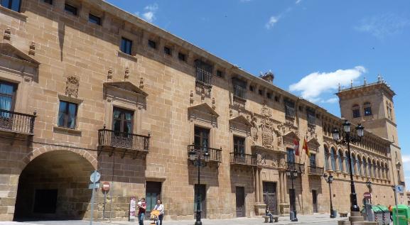 Palacio de los condes de Gomara en Soria.
