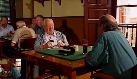 Don León entrevistado por Labordeta, en el programa Un país en la mochila.