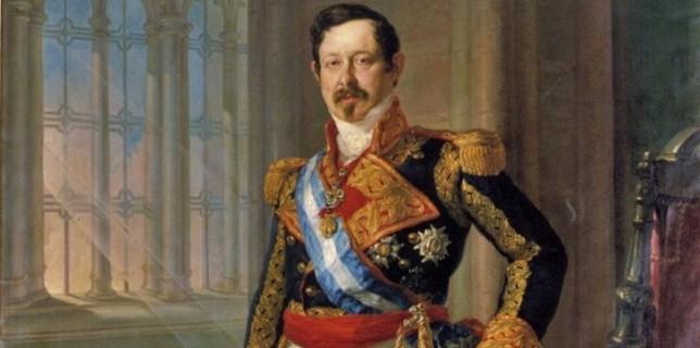 Ramón María Narváez, en un retrato pintado por Vicente López y Portaña