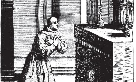El Venerable y penitente Siervo de DIOS Fr. JOrde de la Calzada,lego Religioso de los descalzos de nuestro Seráphico Padre San Francisco,