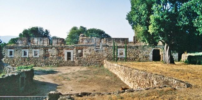 Ruinas del Convento del Rosario, cerca de Oropesa.