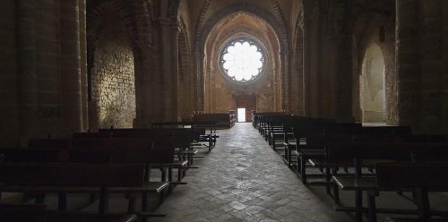 Iglesia del Sacro Convento de Calatrava la Nueva. Foto de José Antonio Alcázar.