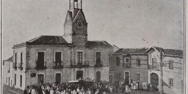El Ayuntamiento de Calzada de Calatrava, en la inauguración.