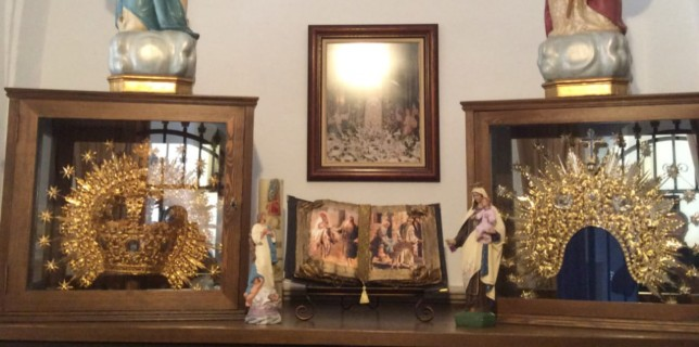 Imágenes de la Ermita de Ntra. Sra. de la Soledad (Calzada de Calatrava). Foto de Cándido Morales Boiza.