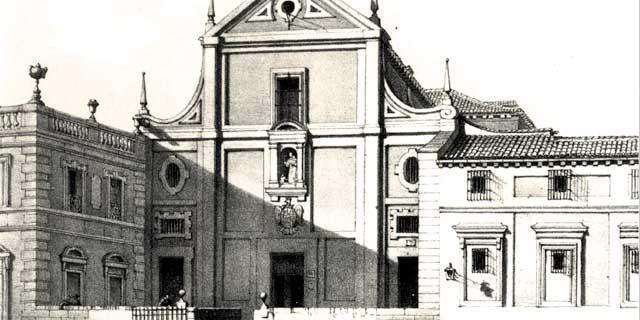 Convento de San Antonio del Prado, Madrid. Lugar donde se aceptaron escrituras para la construcción del Convento de Capuchinos de La Calzada.
